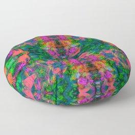 Nausea 1969 III (Ultraviolet) Floor Pillow