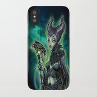 resident evil iPhone & iPod Cases featuring EVIL by Tim Shumate