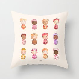 Rima création Throw Pillow