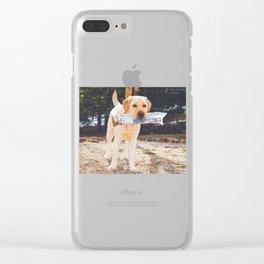 Paper Boy Clear iPhone Case