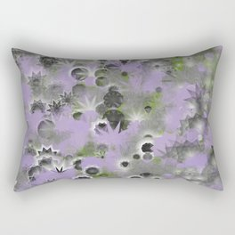 Chilly Violet Night Rectangular Pillow