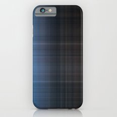 Blue Checked iPhone 6s Slim Case