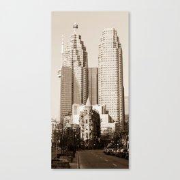 Toronto Flatiron Building Canvas Print