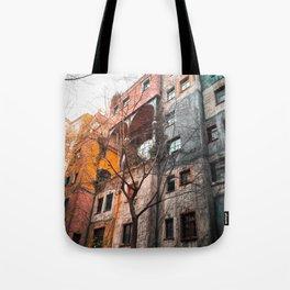 Hundertwasser 4 Tote Bag