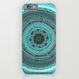 Knowing on Black Background iPhone Case