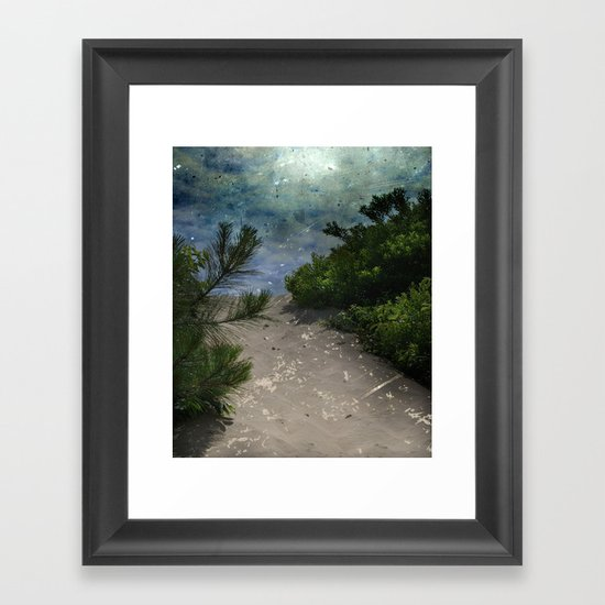 Rising Obscurity Framed Art Print