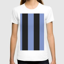 5th Avenue Stripe No. 4 in Lapis and Black Onyx T-shirt