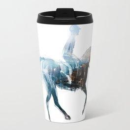 Horse (Canter on the beach) Travel Mug