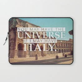 You may have the Universe Laptop Sleeve