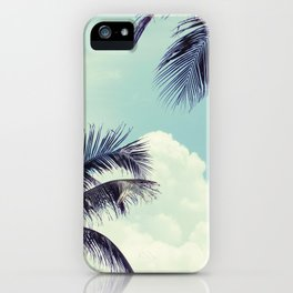 Welcome to Miami Palm Trees iPhone Case