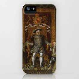 The family of Henry VIII iPhone Case