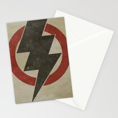 lightning strike zone Stationery Cards