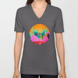It is possible 2 Unisex V-Neck