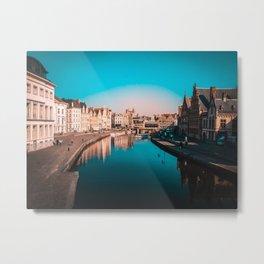 Sint Michielsbrug, View Metal Print