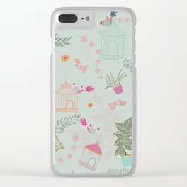 Bring the Birds In Clear iPhone Case
