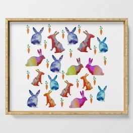 Rabbits Joy Serving Tray