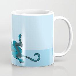 Roaching Greyhound Coffee Mug
