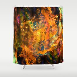 Far Shower Curtain