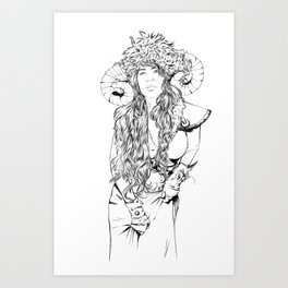 Vivka Art Print