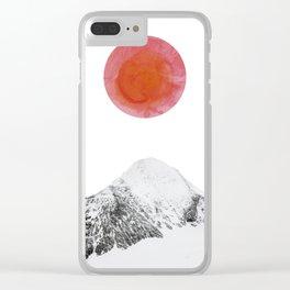 Sunrise Clear iPhone Case