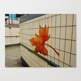 London underpass Canvas Print