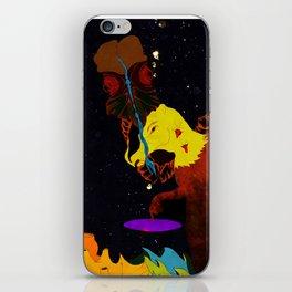 Bullhead wielding a space continuum iPhone Skin