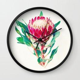 Vintage Protea  Wall Clock