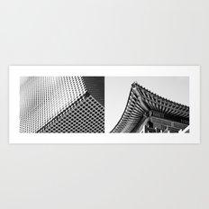 MODERN/TRADITIONAL Art Print