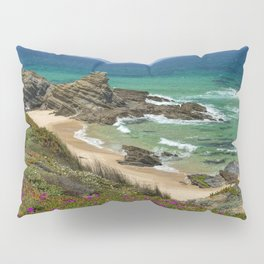 Wild flowers on the Portuguese coast Pillow Sham