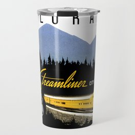 Union Pacific Train poster 1936 - Retouched Version Travel Mug