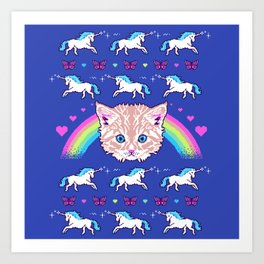 Most Meowgical Sweater Art Print