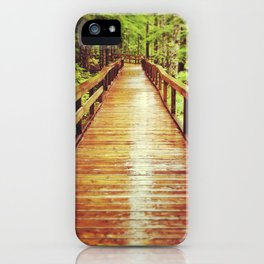 Trail of Two Forests iPhone Case