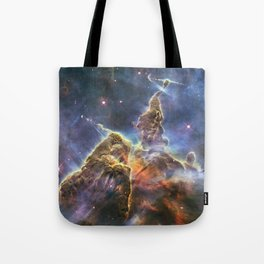 carina carina and her fuzzy psychedelia | space #12 Tote Bag