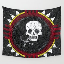 Zia Skeleton Wall Tapestry