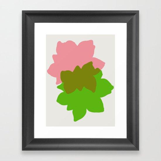 Play 4 Framed Art Print