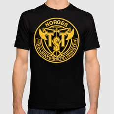 Troll Security Service MEDIUM Mens Fitted Tee Black