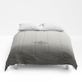 Solo Surfer Comforters