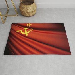 Flag of Soviet Union (1922-1991) Rug