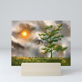 Van Gogh's Moon Mini Art Print