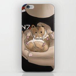 Space Hamster iPhone Skin
