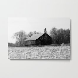 Life is better in the barn Metal Print