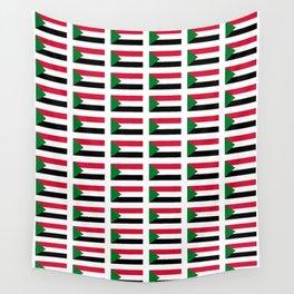 flag of sudan -sudan,السودان ,sudanese,nubia,khartoum,omdurman Wall Tapestry