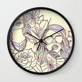 Ultraviolence Wall Clock