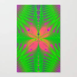 Moth In The Mist. Canvas Print