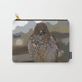 Chicken Hawk Starring Down At Me Carry-All Pouch