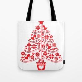 arvore de natal Tote Bag