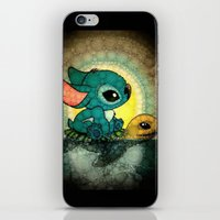 stitch iPhone & iPod Skins featuring Stitch by NORI