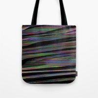 glitch Tote Bags featuring Glitch by DDANIELL