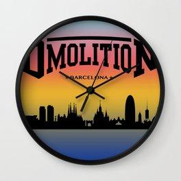 DMolition Sports Wall Clock