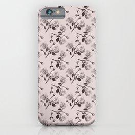 Romantic roses - Sepia iPhone Case
